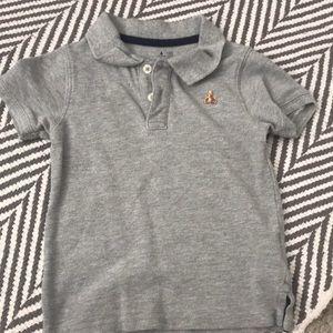 Baby gap boy polo grey shirt